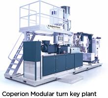 Modular turn key plant