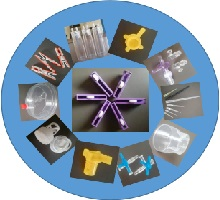 involves in tooling of cosmetic, food and medical