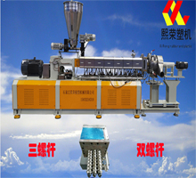 XMA-36 triple screw extruder-Water encircling